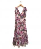 eimy istoire(エイミーイストワール)の古着「Grace flowerリボンワンピース」|ピンク