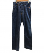 LEVIS(リーバイス)の古着「【古着】201XXデニムパンツ」 インディゴ