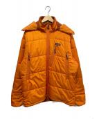 Patagonia(パタゴニア)の古着「パファジャケット」|オレンジ
