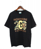 A BATHING APE(ア ベイシング エイプ)の古着「13SS NW20 Exhibition TEE」|ブラック