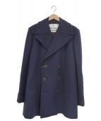 Vivienne Westwood(ヴィヴィアンウエストウッド)の古着「オーバーサイズPコート」|ネイビー