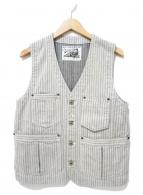 DAPPERS(ダッパーズ)の古着「Side Adjustable Work Vest」|グレー