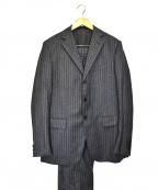 CARUSO(カルーゾ)の古着「ヘリンボーンウールスーツ」|グレー