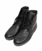 TOD'S(トッズ)の古着「レザーブーツ」|ブラック