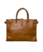 ETTINGER(エッティンガ)の古着「ビジネスバッグ」|キャメル