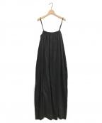 toteme(トーテム)の古着「キャミロングワンピース」|ブラック