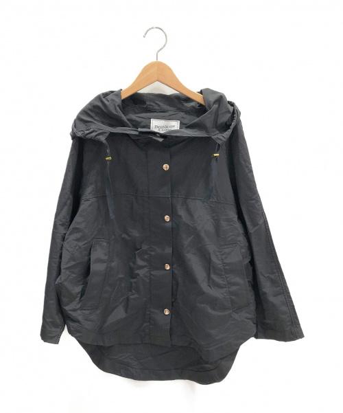 Deuxieme Classe(ドゥーズィエムクラス)Deuxieme Classe (ドゥーズィエムクラス) C/Nフードブルゾン ブラック サイズ:FREEの古着・服飾アイテム