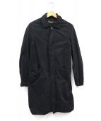 BASISBROEK(バージスブルック)の古着「ステンカラーコート」|ブラック