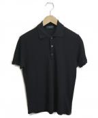 Zanone(ザノーネ)の古着「アイスコットンポロシャツ」 ブラック