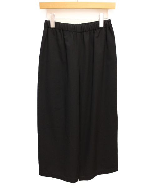 COMME des GARCONS COMME des GARCONS(コムデギャルソンコムデギャルソン)COMME des GARCONS COMME des GARCONS (コムデギャルソンコムデギャルソン) ウールギャバワイドパンツ ブラック サイズ:XSの古着・服飾アイテム