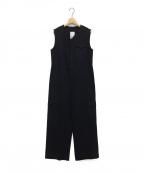 KIJI(キジ)の古着「ボイルチノオールインワン」|ブラック