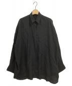 Deuxieme Classe(ドゥーズィエムクラス)の古着「WIDE LINENシャツ」|ブラック