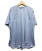 CADUNE(カデュネ)の古着「Tシャツブラウス」 ブルー