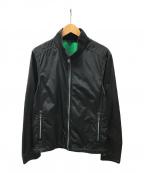 BOSS HUGO BOSS(ボスヒューゴボス)の古着「ジップアップジャケット」|ブラック