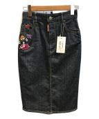 DSQUARED2(ディースクエアード)の古着「装飾デニムスカート」