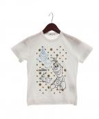 COMME des GARCONS(コムデギャルソン)の古着「オラフドットTシャツ」 ホワイト