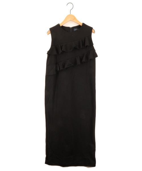 MARONENONFEE(マーロンエノンフィ)MARONENONFEE (マーロンエノンフィ) ロングワンピース ブラック サイズ:FREEの古着・服飾アイテム