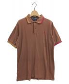 COMME des GARCONS SHIRT(コムデギャルソンシャツ)の古着「ポロシャツ」|ブラウン