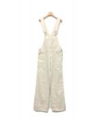 ISABEL MARANT ETOILE(イザベルマラン エトワール)の古着「ヘリンボーンオーバーオール」|オフホワイト