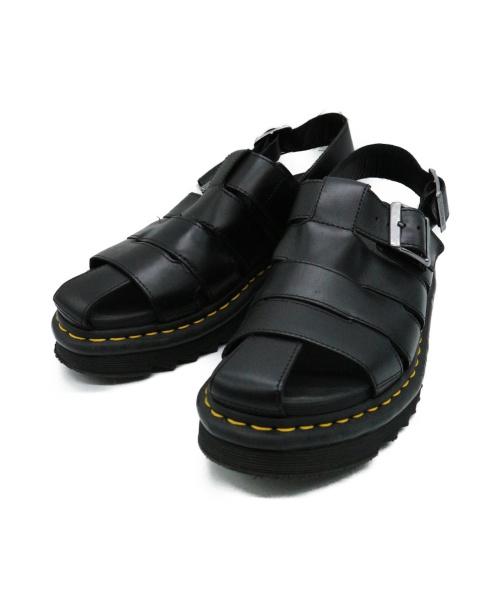 Dr.Martens(ドクターマーチン)Dr.Martens (ドクターマーチン) ABELサンダル ブラック サイズ:UK7の古着・服飾アイテム