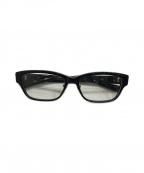 999.9(フォーナインズ)の古着「眼鏡フレーム」|ブラック