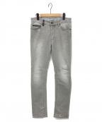 MARCELO BURLON(マルセロバーロン)の古着「デニムパンツ」|グレー