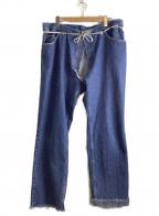 MAISON EUREKA(メゾン エウレカ)の古着「LEEリメイクデニムパンツ」