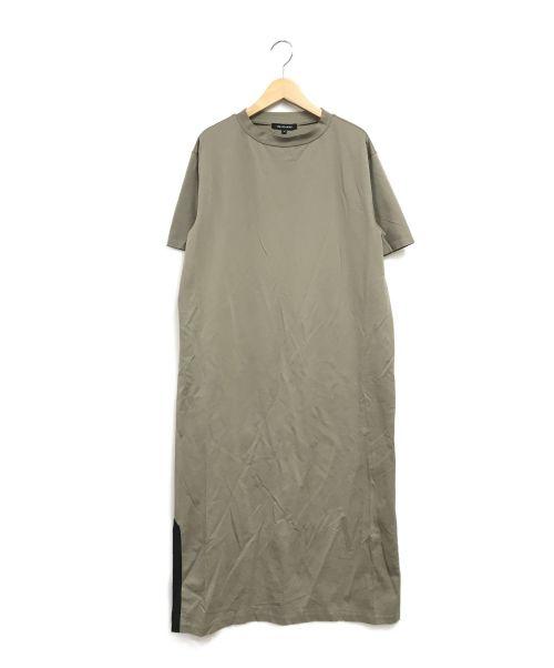 LAUTRE AMONT(ロートレアモン)LAUTRE AMONT (ロートレアモン) カットソーワンピース カーキ サイズ:Mの古着・服飾アイテム