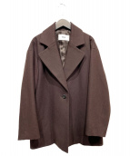 RIM.ARK(リムアーク)の古着「ビッグカラーライトジャケット」|ブラウン