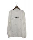 KITH(キス)の古着「長袖Tシャツ」|ホワイト