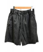 H BEAUTY&YOUTH(エイチビューティアンドユース)の古着「デニムショーツ」 ブラック