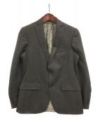 ETRO(エトロ)の古着「ウール2Bジャケット」|ブラウン