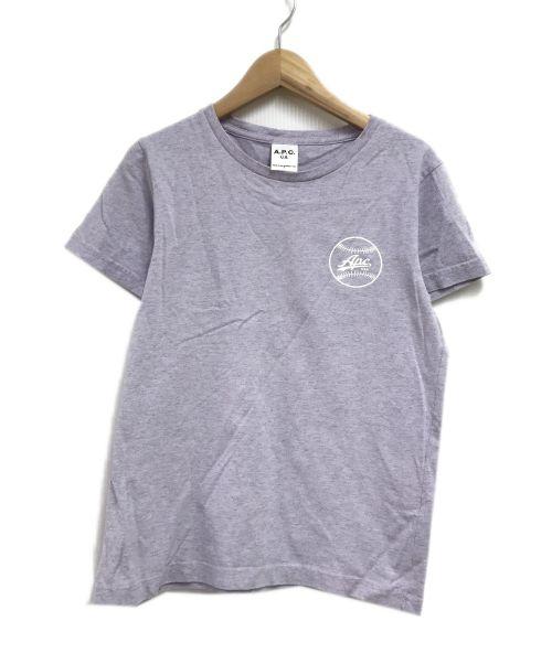 A.P.C.(アーペーセー)A.P.C. (アーペーセー) Tシャツ ラベンダー サイズ:Sの古着・服飾アイテム