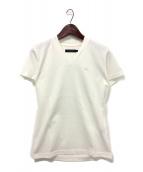 1piu1uguale3(ウノピュウノウグァーレトレ)の古着「VネックTシャツ」|ホワイト