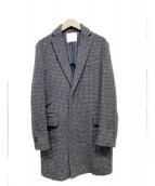 sacai(サカイ)の古着「チェスターコート」|グレー