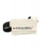 A-COLD-WALL(ア コールド ウォール)の古着「19SS ショルダーバッグ」|ホワイト