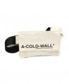 A-COLD-WALL(ア コールド ウォール)の古着「19SS ショルダーバッグ」 ホワイト