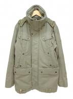 DIESEL(ディーゼル)の古着「中綿ミリタリージャケット」|オリーブ
