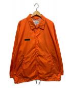 Columbia(コロンビア)の古着「バックロゴコーチジャケット」 オレンジ