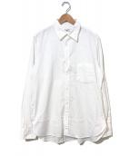 YohjiYamamoto pour homme(ヨウジヤマモトプールオム)の古着「オーバーシルエットポプリンシャツ」 ホワイト