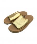 ISLAND SLIPPER(アイランドスリッパー)の古着「サンダル」|ゴールド