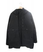 nanamica(ナナミカ)の古着「ダウンコート」|ブラック