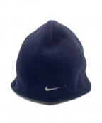 GYAKUSOU(ギャクソウ)の古着「ニット帽」 ネイビー
