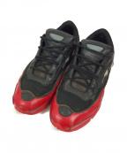 adidas by RAF SIMONS(アディダス バイ ラフシモンズ)の古着「スニーカー」|ブラック×レッド