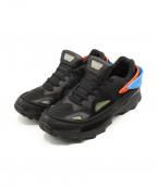 adidas by RAF SIMONS(アディダス バイ ラフシモンズ)の古着「スニーカー」|ブラック×ブルー