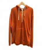 UNFIL(アンフィル)の古着「プルオーバーパーカー」|オレンジ