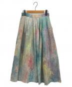 latelier du savon(アトリエドゥサボン)の古着「C/アムンゼンpaletteスカート」