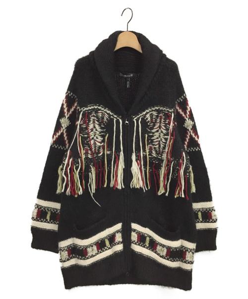 ISABEL MARANT(イザベルマラン)ISABEL MARANT (イザベルマラン) ニットブルゾン ブラック サイズ:1の古着・服飾アイテム