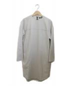 YOKO CHAN(ヨーコチャン)の古着「ウールワンピース」|ライトグレー