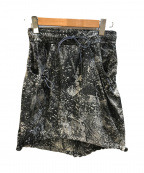 DIESEL(ディーゼル)の古着「ナイロンスカート」|ブラック